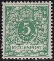 Deutsches Reich   .    Michel  46     .   *   .   Ungebraucht Mit Gummi Und Falz  .   /   .   Mint Hinged - Allemagne