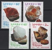 Ethiopia - Ethiopie (2003) Yv. 1593/96  /  Minerals - Mineraux - Minéraux