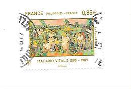 70ème Anniversaire De L'établissement Des Relations Diplomatiques Entre La France Et Les Philippines 5159 Oblitéré 2017 - Gebraucht