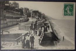 14 Calvados CPA  Villers Sur Mer La Digue Et Les Villas 1910 - Villers Sur Mer
