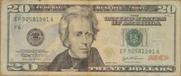 Billet 20 Dollars US état D'usage - Canada