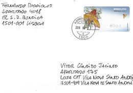PORTUGAL ATM - Label Butterflies Of Portugal - 1st Series - Vignettes D'affranchissement (ATM/Frama)
