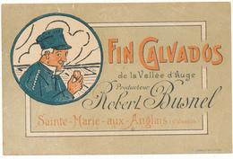Etiquette - FIN CALVADOS De La Vallée D'Auge - Robert Busnel, Sainte Marie Aux Anglais - Labels