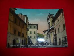 Soriano Del Cimino Via Roma Chiesa Di Sant'Agostino Viterbo Lazio - Viterbo