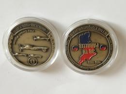 Medalla Guerra De Korea. 1950-1953. Estados Unidos De América. US Army. F4U Corsair Fighter. Material: Aleación. Peso: 2 - Estados Unidos