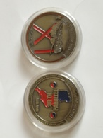 Medalla Guerra De Korea. 1950-1953. Estados Unidos De América. US Army. IX Corps. Tanque - Estados Unidos