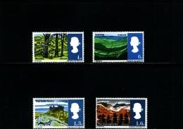 GREAT BRITAIN - 1966  LANDSCAPE SET  MINT NH - 1952-.... (Elisabetta II)