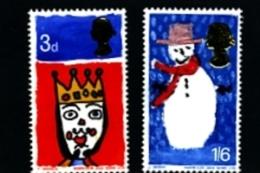 GREAT BRITAIN - 1966  CHRISTMAS SET  MINT NH - 1952-.... (Elisabetta II)