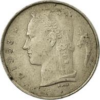 Monnaie, Belgique, Franc, 1953, TB, Copper-nickel, KM:143.1 - 1951-1993: Baudouin I