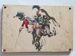 Cuadro Coracero 1810. Guerras Napoleónicas. España. 1968. Postal Lámina Editada Por El Servicio Geográfico Del Ejército - Sin Clasificación
