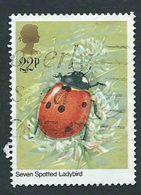 Great Britain, Gran Bretagna 1985; Ladybird, Coccinella . Used. - Insetti