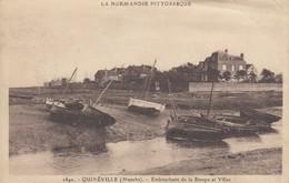 50 - Manche - Quinéville - Embouchure De La Sinope - Les Barques - Les Villas - France