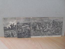 3 CP De Waterloo - Napoléon - Régiment - Cavalerie - Gardes - Histoire