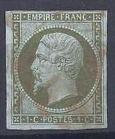 No 11 0b Rouge - 1853-1860 Napoleon III