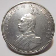 DOA GERMANIA COLONIA 1 RUPIE 1913 J ARGENTO - Afrique De L'Allemagne De L'Est