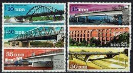 DDR 1976 // Mi. 2163/2168 O (M.032..308) - Brücken
