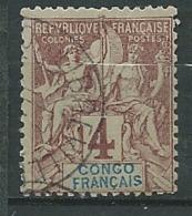 C Ongo Français    - Yvert N°  14 Oblitéré   - Abc 27828 - Congo Français (1891-1960)