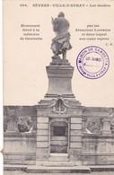 SEVRES. VILLE D'AVRAY. LES JARDIES. MONUMENT GAMBETTA. CM. CIRCULEE 1907- BLEUP. - Sevres