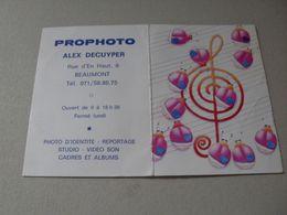 Calendrier De Poche - 1988 - Beaumont - Non Classés