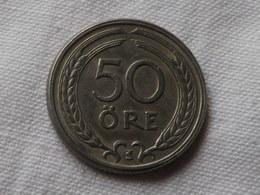 Suede 50 Ore 1946  TS   Nickel Bronze  -   Km# 796  TTB - Suède