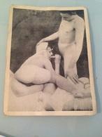 Ancienne Carte Postale Photo Scène Adulte Nu Erotique - Nus Adultes (< 1960)
