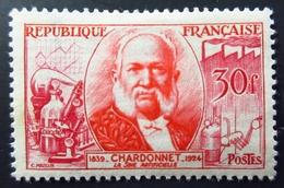 1955 France Yt 1017.Hilaire Bernigaud De Chardonnet (1839-1924) . Neuf Trace Charnière TBE - France