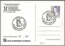 Italia/Italy/Italie: Lucrezia Borgia A Ferrara - Femmes Célèbres