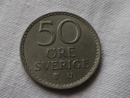 Suede 50 Ore 1973    Cupro Nickel  Km#837   TTB - Suède