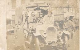 CARTE PHOTO CAMION MILITAIRE FRANCAIS - ARMEE DE HONGRIE - Guerres - Autres