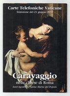 Vaticano - 2010 - Urmet - Folder Caravaggio Nelle Chiese Di Roma - Emissione 21 Giugno 2010 - Vedi Foto - (FDC13429) - Vaticano