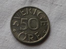 Suede 50 Ore 1982    Cupro Nickel  Km#837   TTB - Suède