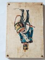Cuadro Tambor Infantería De Línea. 1815. España. 1968. Guerras Napoleónicas. Postal Lámina Editada Por El Servicio - Sin Clasificación