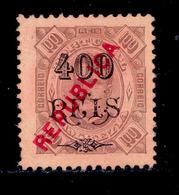 ! ! Zambezia - 1914 King Carlos Local Republica 400 R - Af. 77 - NGAI - Zambèze