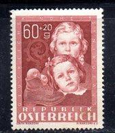 W714 - AUSTRIA 1949 , Unificato N. 766  * Linguella Leggerissima  .  S.NICOLO - 1945-.... 2a Repubblica