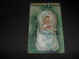 Bébé  Baby   Carte Gaufrée  Reliëf - Babies