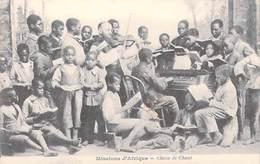 MISSIONS D'AFRIQUE Classe De Chant (musique Piano)(MISSION RELIGION)   *PRIX FIXE - Missions