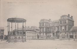 CPA Momignies - Le Kiosque Et La Mairie - Momignies