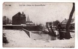 + 802,  Feldpost, Erste Schnee Im Somme-Gebiet - Guerre 1914-18