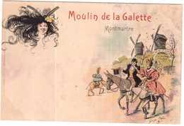 CPA.PRESTIGIEUSE COLLECTION CINOS.MOULIN DE LA GALETTE.ILLUSTRATEUR REDON - Francia