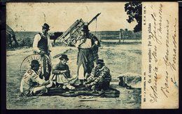 """ARGENTINE - CPA """"En El Campo Argentino : Por Las Pilchas"""" S.F.A. DE A - Ecrite En 1914 -B/TB - - Argentina"""