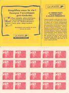 FRANCE - BOOKLET / CARNET, Yvert 3085-c2, 1997, 20 X TVP Marianne Du 14 Juillet, Red - Libretti