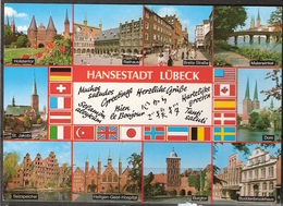 Germany  Card From Hasestadt Lübeck, Used Not In Post - Germany
