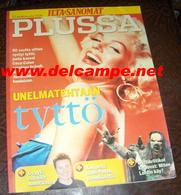 FINNISH Magazine Finland Marilyn MONROE - Bücher, Zeitschriften, Comics