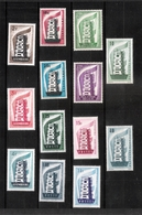 1956 - SUPERBE ETAT- ANNEE COMPLETE 13 VALEURS NEUFS ** ( SERIE MNH SET) - 1956