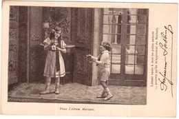 CPA COLLECTION DE L' ALBUM DU VIN MARIANI. DESSIN DE PROFESSEUR STEBBING - France