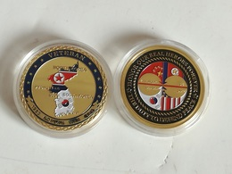 Medalla Veterano Guerra De Korea. 1950-1953. Estados Unidos De América. US Army - Estados Unidos