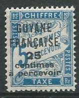 Guyane - Taxe  - Yvert N° 5 *  - Abc 27923 - Guyane Française (1886-1949)