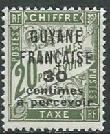 Guyane - Taxe  - Yvert N° 6 *  - Abc 27924 - Guyane Française (1886-1949)