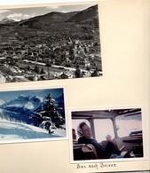 Urlaub Südtirol 1961 - Karerpass Brixen Meran Vallazza Palmschoss Terlan Latemar - Bilder Fotos 16 Seiten Von Fotoalbum - Reiseprospekte