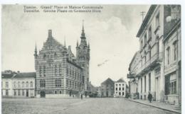 Temse - Temsche - Tamise - Grand'Place Et Maison Communale - Groote Plaats En Gemeentehuis  - Uitg. E.D.L. - 1912 - Temse